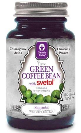 Genesis green coffee bean extract dr oz