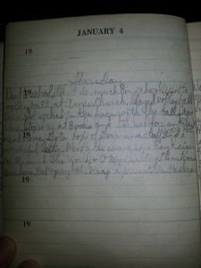 Amanuensis Monday: Jan 3rd-5th1945 #geneabloggers #genealogy