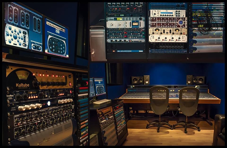 SPL analog gears and Analog Code #plugins at #SAE Institute Köln