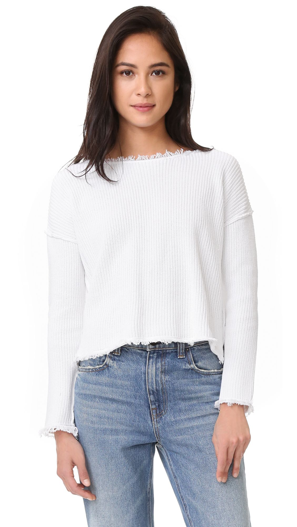 Cómpralo ya!. 525 America Cropped Sweater - Bleach White. This ...