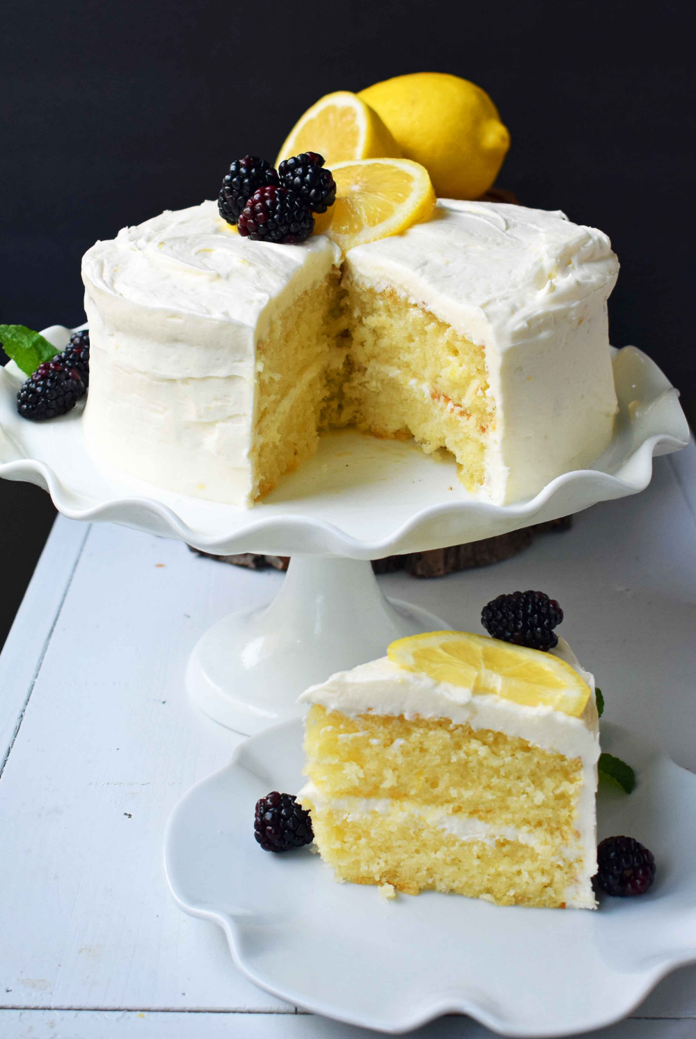 Italian Lemon Olive Oil Cake – Modern Honey
