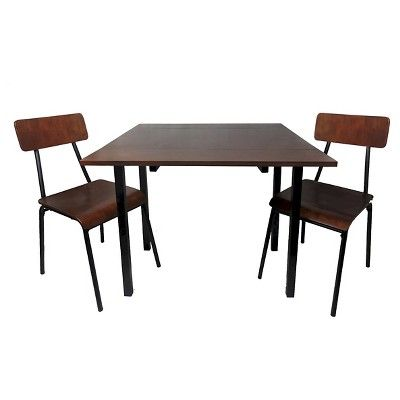 I spied with my Target eye: Threshold 3 Piece Dining Table Set ...