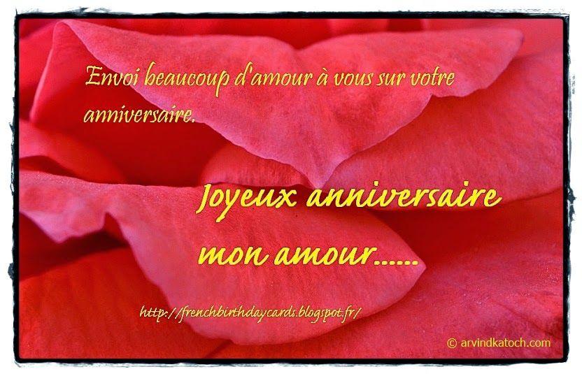 Souhaits danniversaire avec des messages dimage pour vous – Happy Birthday Greetings in French
