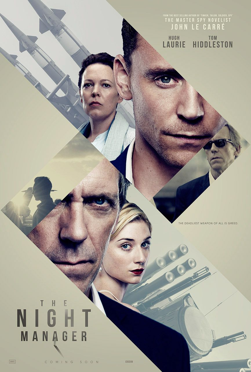 "Poster visual for ""The Night Manager"" by http://scottw.myportfolio ..."