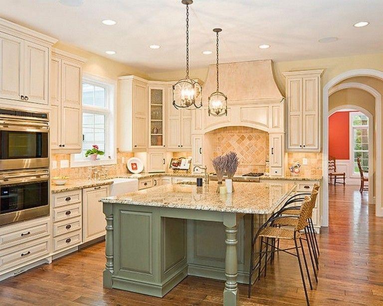 50 easy and elegant cream colored kitchen cabinets design ideas in 2020 luxury kitchens cream on kitchen ideas elegant id=52764