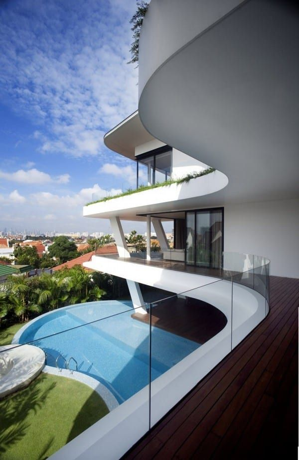 Interesting House Exterior Design In Kulai Malaysia: Modern House Design, Luxury Homes, Modern Architecture