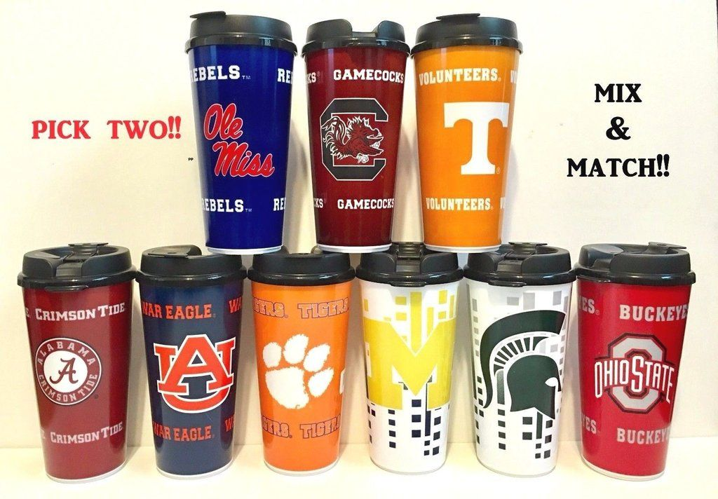 32-ounce NCAA Alabama Crimson Tide Hype Travel Cup