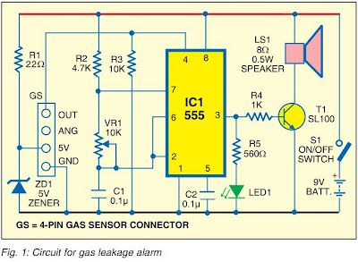 Gas leakage alarm mini project (pdf) .. ADVANCED GAS DETECT AND ...