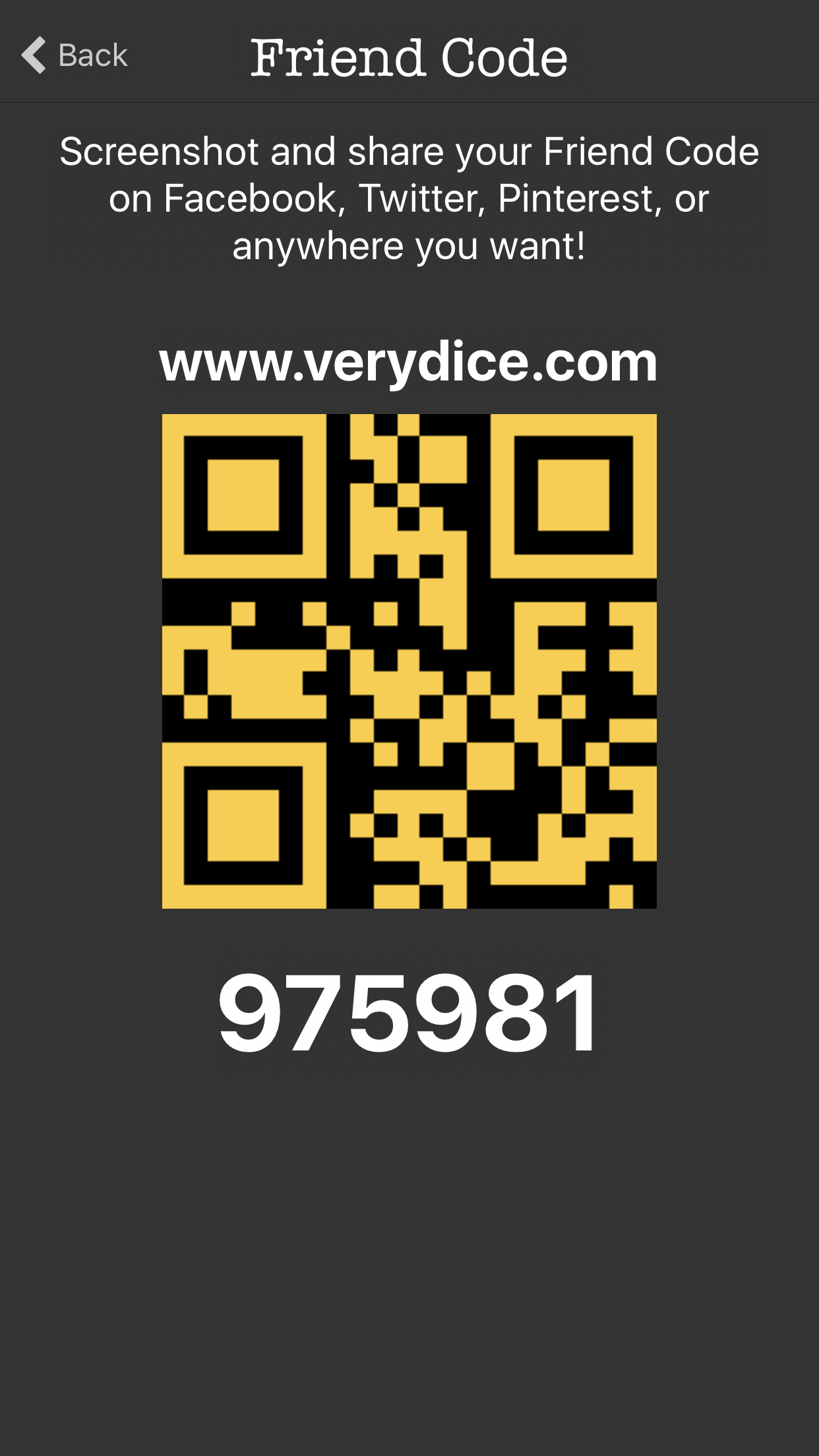 Come play verydice and redeem points for cool things