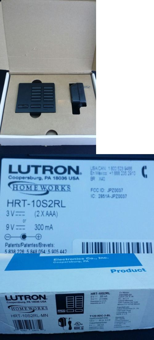 Other Home Automation Lutron Homeworks Qs 6Button Wireless