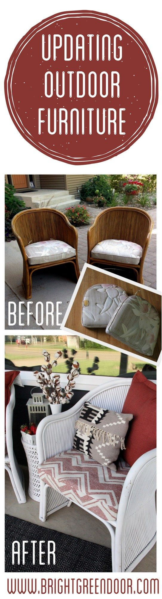 Updated Vintage Bamboo Chairs | Balcones