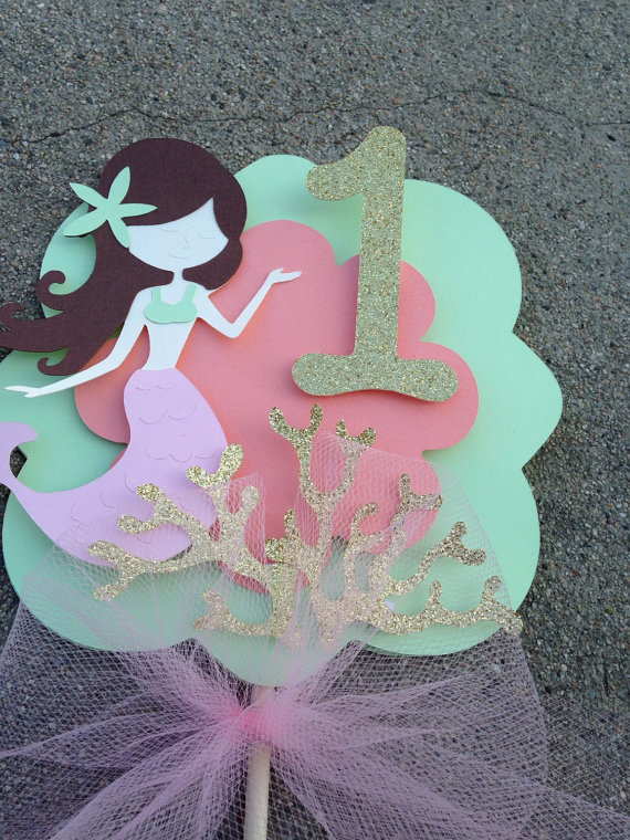 mermaid cake topper mermaid cake topper mermaid centerpiece mermaid by 5834
