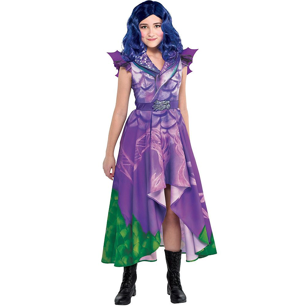 Details about  /Descendants 3 Mal Uma Evie Kids Girls Cosplay Costume Fancy Dress Party Outfits