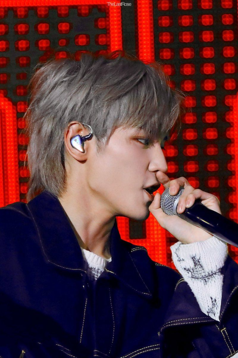 Taeyong Mullet Hairstyle Nct Taeyong Nct