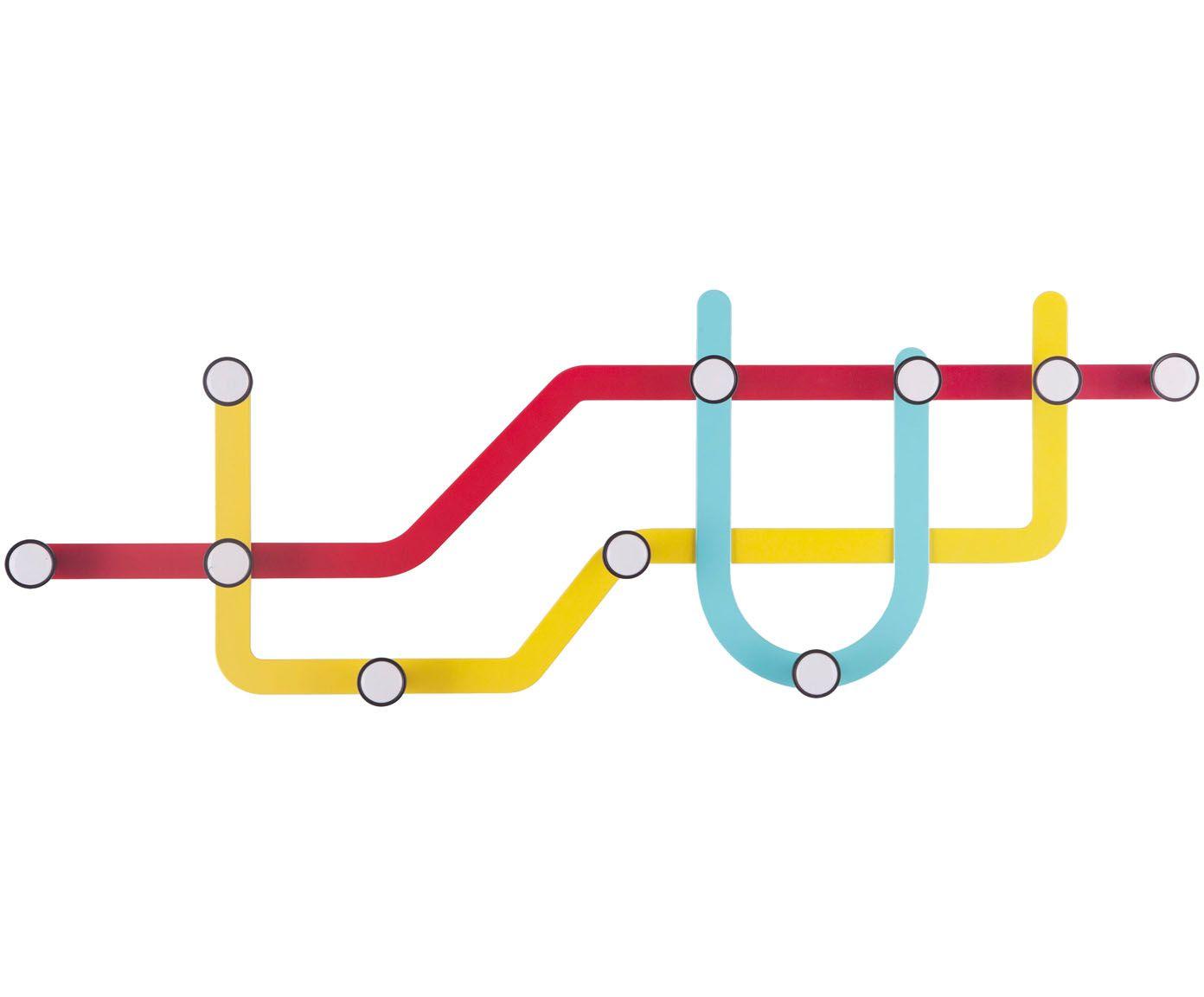 Design Wandgarderobe Subway In 2019 Wandgarderobe Wandhaken Und