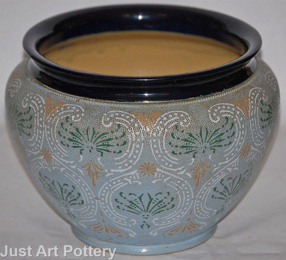 Doulton Lambeth Pottery Large Jardiniere