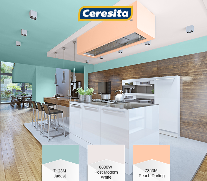 CeresitaCL #PinturasCeresita #Color #Cocina #Pintura #Decoración ...