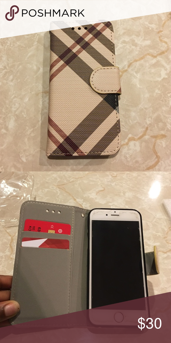Burberry Inspired Iphone 6 Case