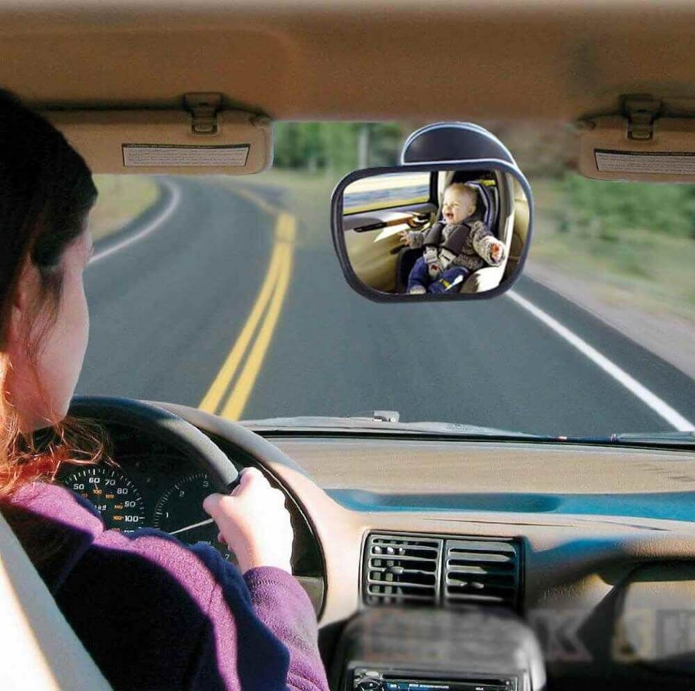 Best Baby Car Mirror No Headrest Seat Rear Facing Backseat For