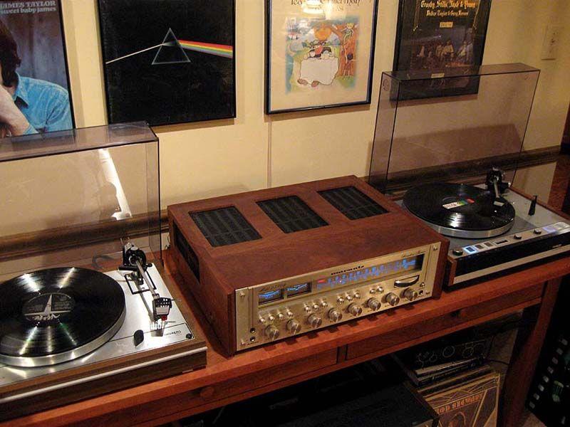 Vintage 70 S Stereo System Music Vintage Turntable