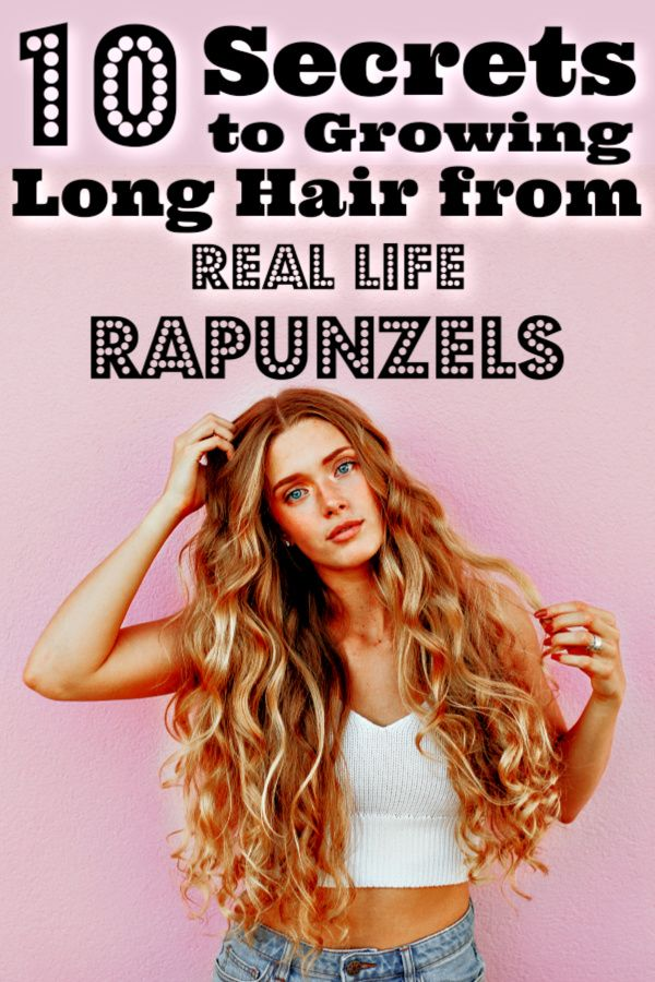 10 Secrets To Growing Long Hair From Real Life Rapunzels -   12 long hair Treatment ideas