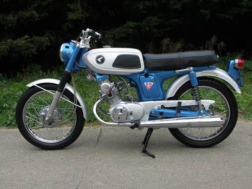 Honda Ss125a Vintage Honda Motorcycles Honda Bikes Honda