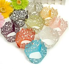 12PCS Butterfly Baking Cup Cake Wrapper Cupcake Decoration