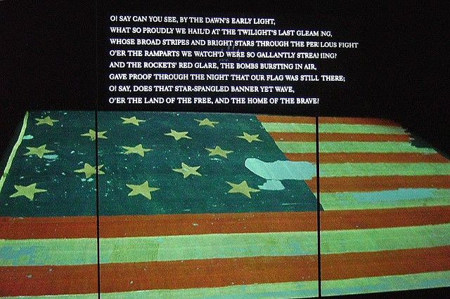 Fort Mchenry Flag Smithsonian Museum Of American History American History Smithsonian Museum History