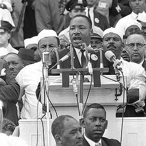 Dr Martin Luther King Gives His I Have A Dream Speech In