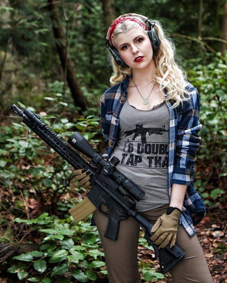 Sexy Guns And Buns Sexy Girls Hot Babes With Guns -4836