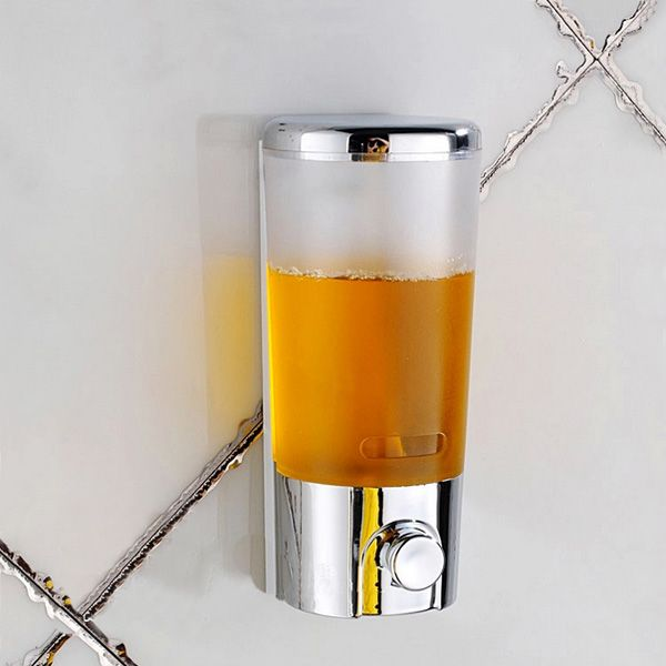 High Quality Wall Mounted Liquid Soap Dispensers For Bathroom Silver