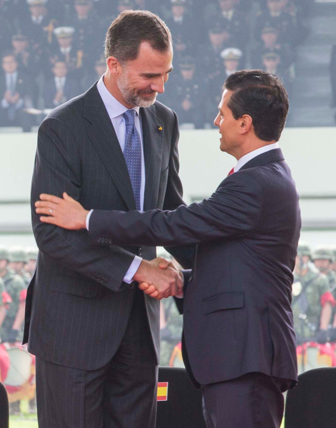 King Felipe Vi Of Spain And Queen Letizia Of Spain Enrique Pea