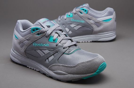 Reebok Ventilator - Mens Select Footwear - Flat Grey/Steel/White/Emerald Sea/Black