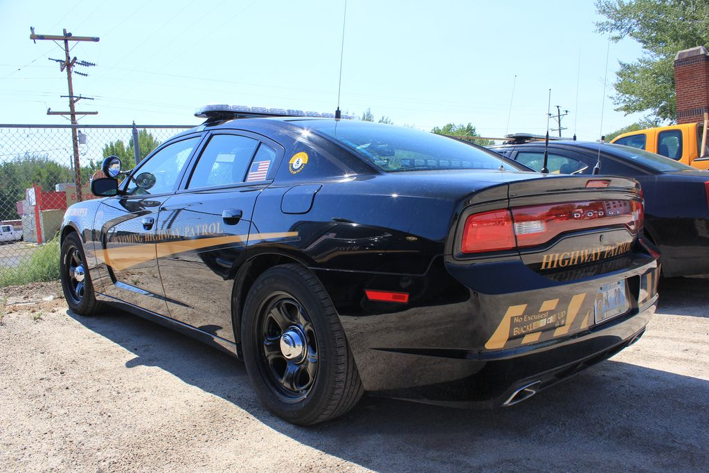 Wyoming Highway Patrol State Trooper 28 Dodge Charger