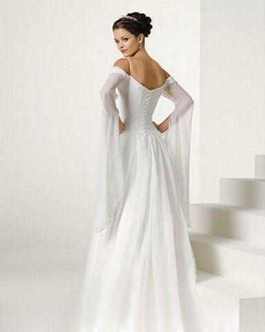 Brautkleid mit Ärmel. http://www.brautkleid-brautkleider