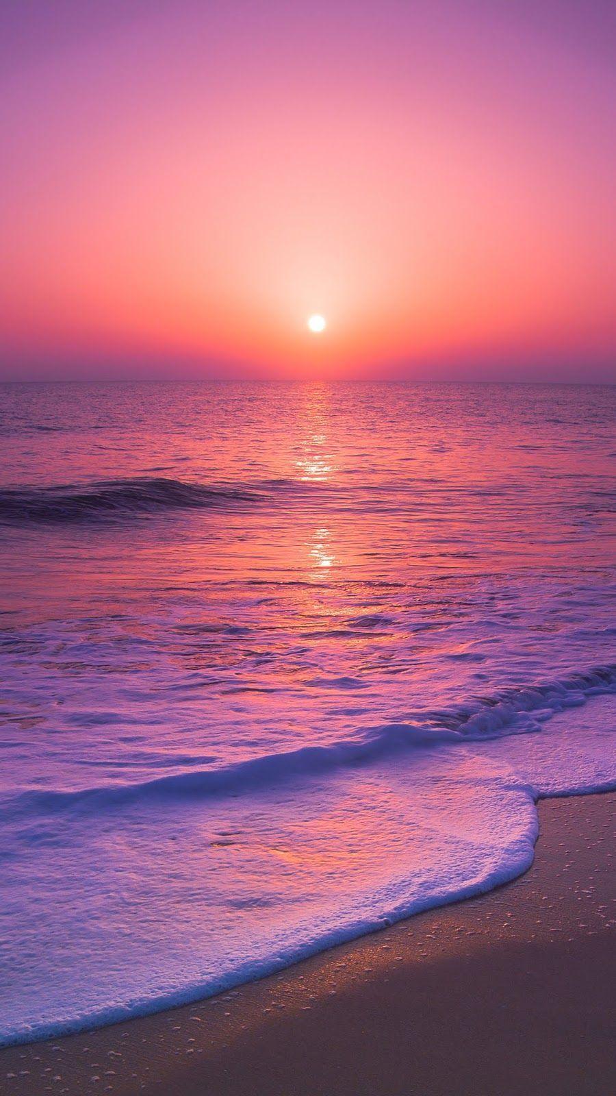 Sonnenuntergang Strandtapete Sonnenuntergang Strandtapete Wallpaper Pantai Wallpaper Yang Indah Wallpaper Alam Yang Indah