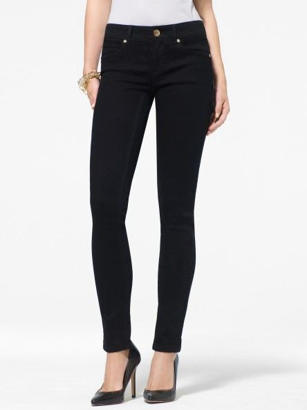 Black Stretch Skinny Jean - Jeans - Bottoms - Clothing