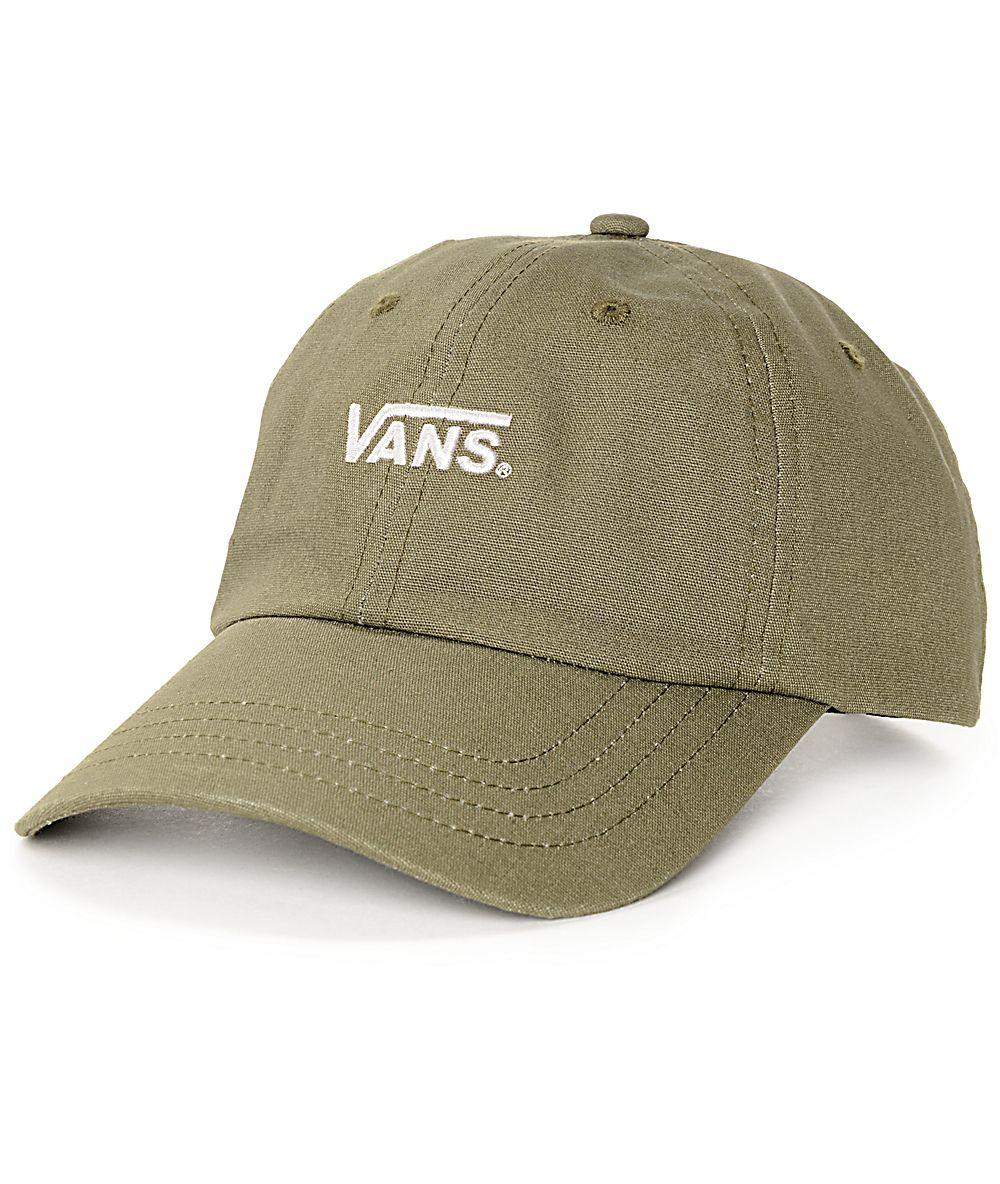 d1dc0a874 Vans Court Olive Baseball Hat in 2019 | Zumiez. | Baseball hats ...