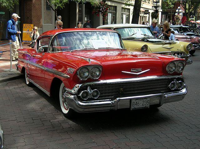 1958 Chevrolet Impala by Stephen Rees, via Flickr