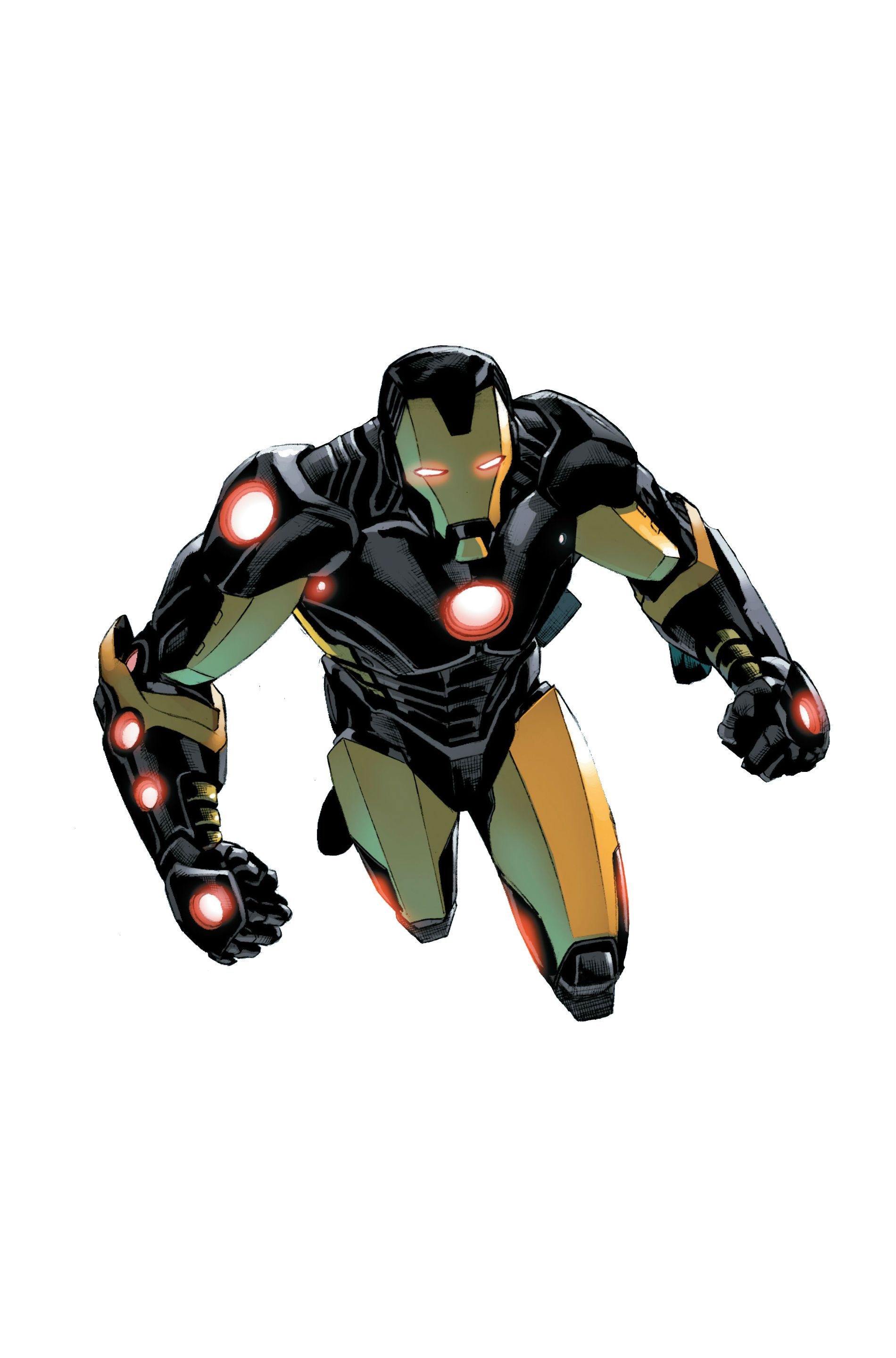 Iron Man Armor Model 42 By Carlo Pagulayan And Wellinton Alves
