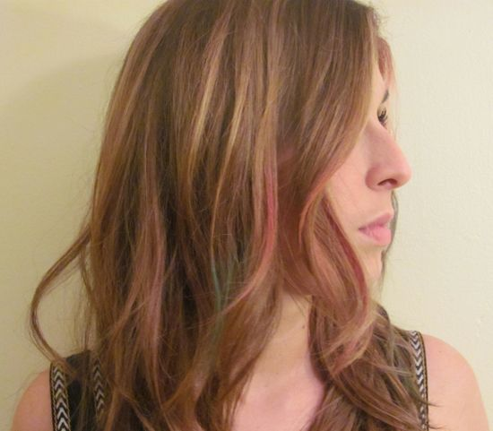 How To Guide: Chalking - fun, temporary hair color streaks