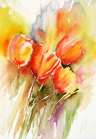 lovely watercolors on this site