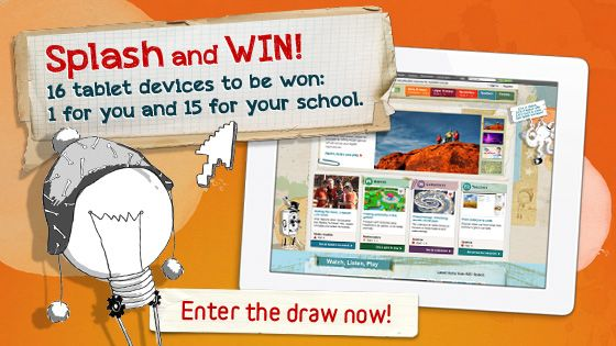 Win 16 Tablets For Your Class Abc Education Abc Splash School