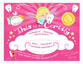 Special delivery from the tooth fairy printable tooth fairy special delivery from the tooth fairy printable tooth fairy certificate and envelope yelopaper Image collections