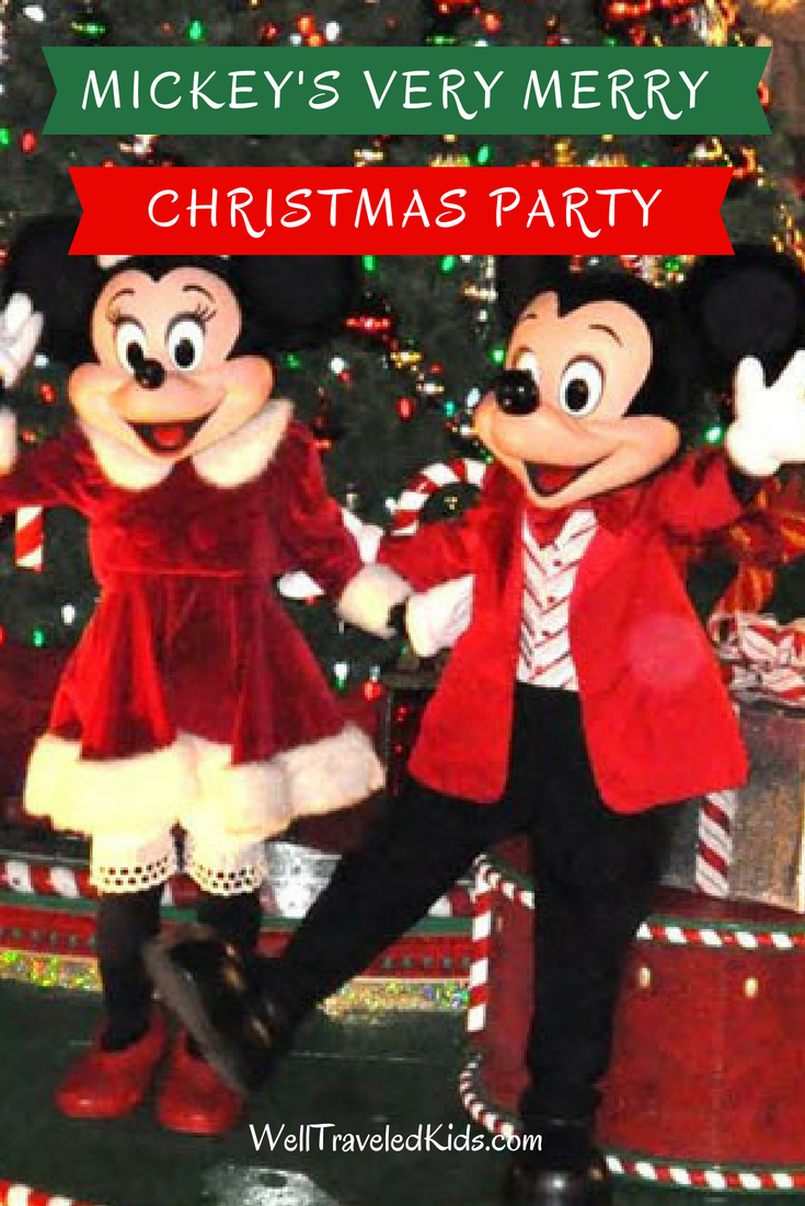 tips for visiting mickeys very merry christmas party at disney world in orlando florida christmas parade magic kingdom holiday lights holiday fireworks - Mickeys Merry Christmas Party