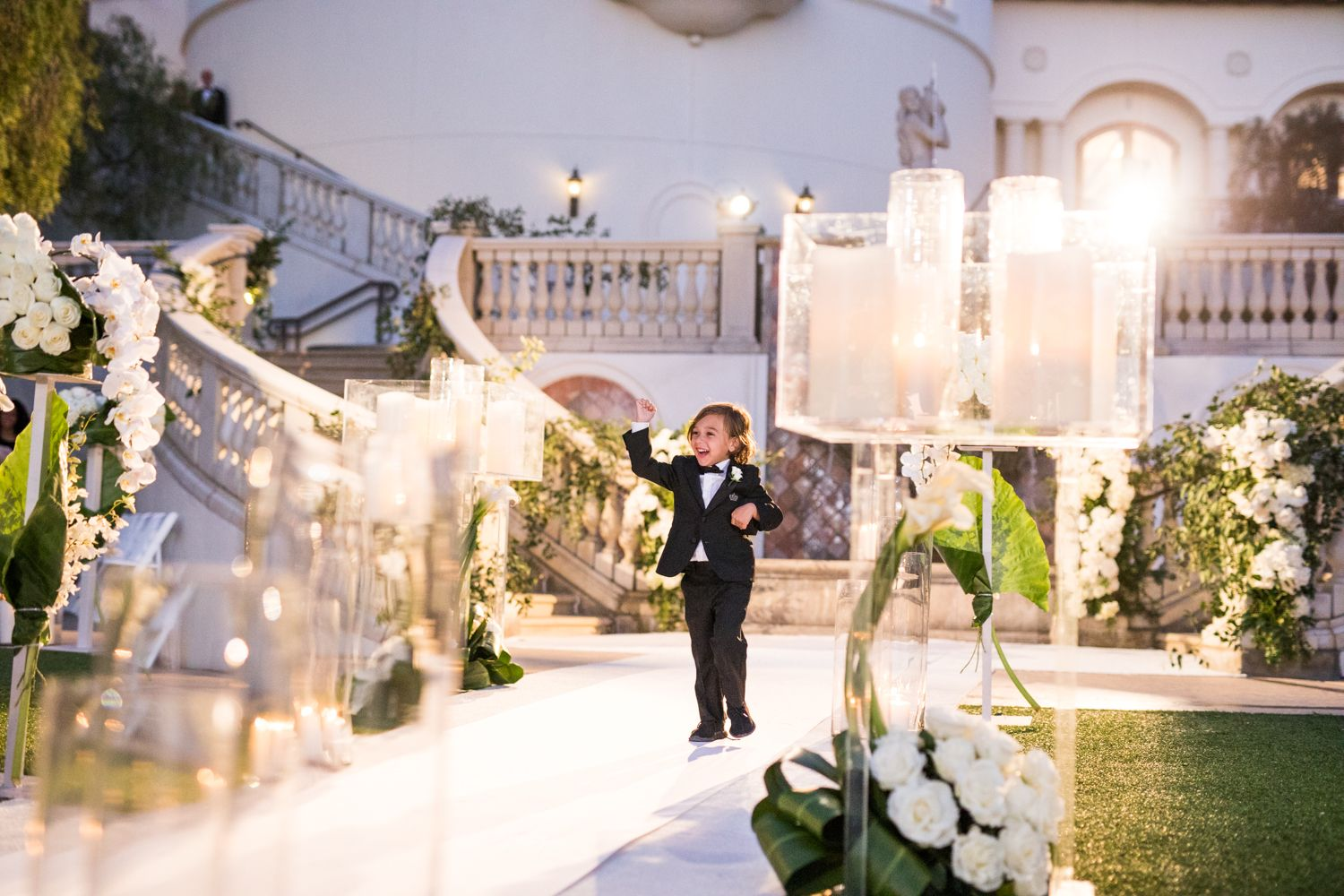 Outdoor Jewish Wedding Ceremony Luxe Reception In California