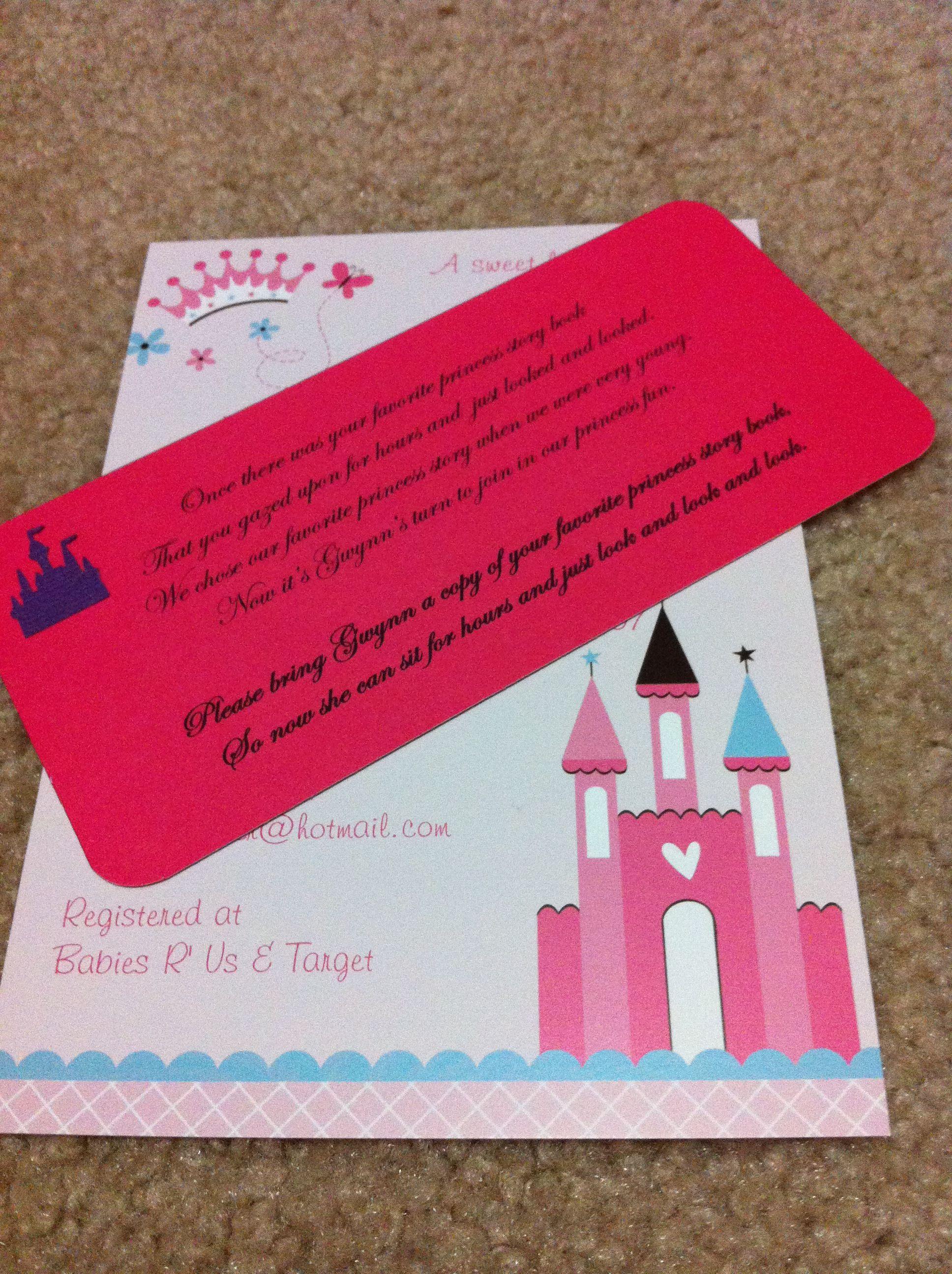 Fantastic Baby Shower Invitation Inserts Adornment - Invitations and ...