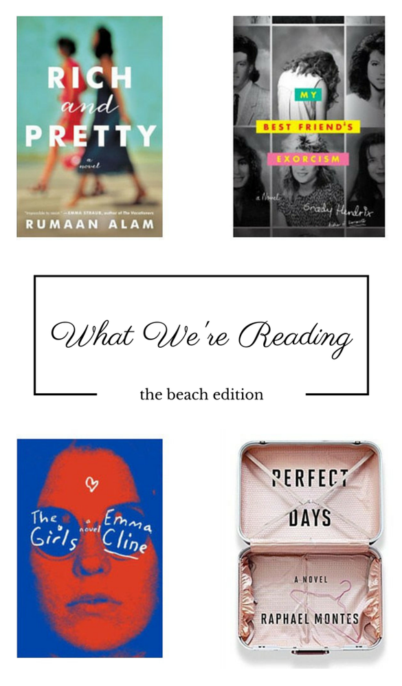 Four books we can't wait to read on the beach this summer