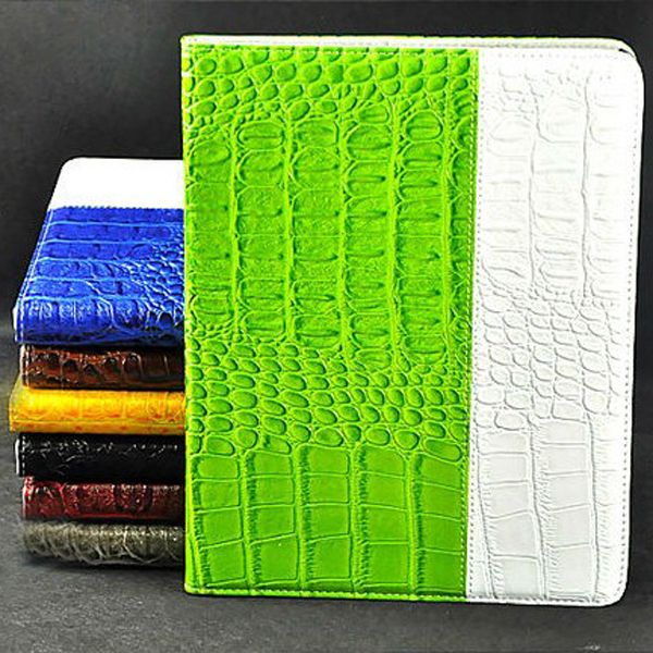 Crocodile Embossed PU Leather Case