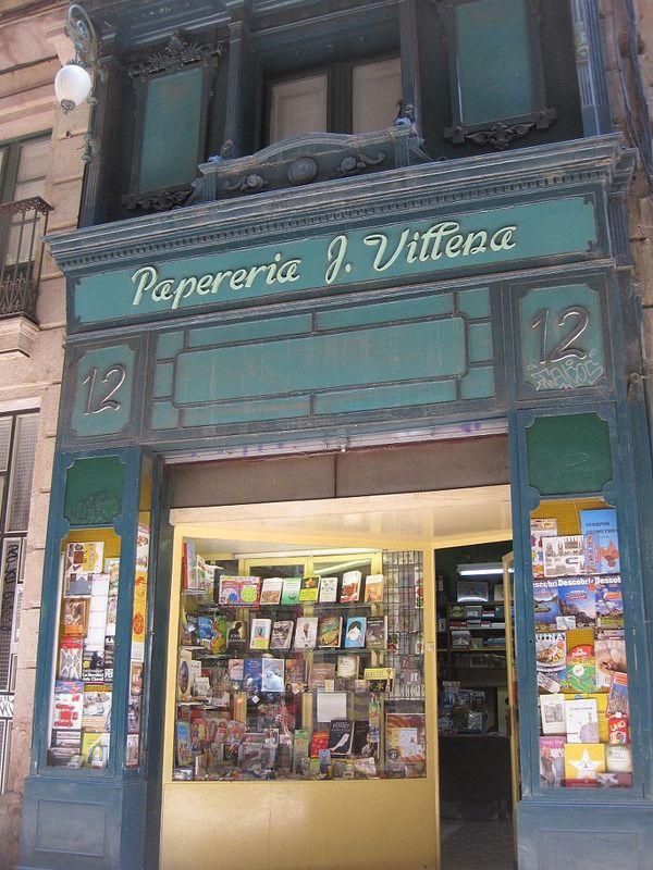 Papelería J Villena. Barcelona